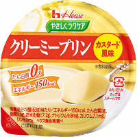 やさしくラクケア  クリーミープリン カスタード風味 084306 1箱(12個入) ハウス食品