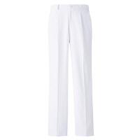 高浜ユニフォーム 医療白衣 メンズ ストレッチワンタックパンツ ホワイト LL TU-P212 1枚 (取寄品)