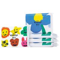 カードホルダー付きポケットティシュ こども支援 105600 1ケース(500個入) 河野製紙【ASKUL Kodomo Art Project】