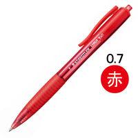 ステッドラー ルナ ノック式油性ボールペン 赤 877-2 1箱(10本入)