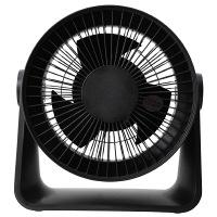 サーキュレーター(低騒音ファン)ブラック