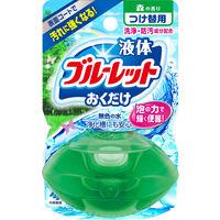 液体ブルーレットおくだけ トイレタンク芳香洗浄剤 詰め替え用 森の香り 70ml 小林製薬
