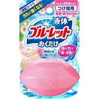 液体ブルーレットおくだけ トイレタンク芳香洗浄剤 詰め替え用 洗いたて柔軟剤の香り 70ml 小林製薬