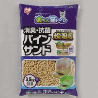 アイリスオーヤマ 楽ちん猫トイレ 消臭・抗菌 パインサンド 3.5L