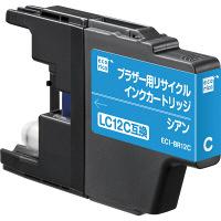 エコリカ リサイクルインク ECI-BR12C シアン(ブラザー LC12C互換)