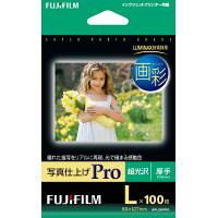 富士フイルム 画彩 写真仕上げPro WPL100PRO L判 1箱(100枚入)
