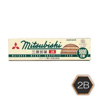 三菱鉛筆(uni) MITSUBISHI鉛筆 2B K9800EW2B 1ダース(12本入)
