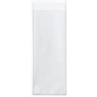 OPP袋 フタ・シール付き 長形40号封筒サイズ 1袋(100枚入) 伊藤忠リーテイルリンク