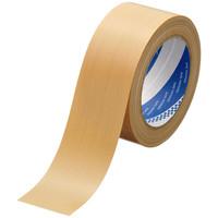 寺岡製作所 包装用布テープ No.1532 0.20mm厚 幅50mm×長さ25m巻 茶 1セット(5巻)