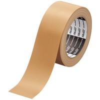 Monf 梱包用布粘着テープ No.8015 0.2mm厚 50mm×25m巻 黄土 1箱(30巻入) 古藤工業