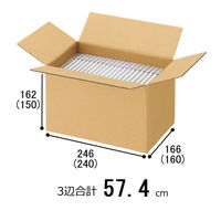 【底面A5】【60サイズ】 「現場のチカラ」 強化ダンボール A5×高さ162mm 1セット(60枚:20枚入×3梱包) オリジナル