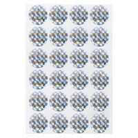 オキナ パリオシール ホログラム王冠 25mm PS1435 1袋