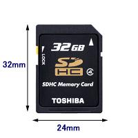 TOSHIBA/東芝 SDHC 32GB Class4 ( SD-L032G4 )