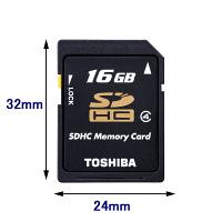 東芝 16GB SD-L016G4