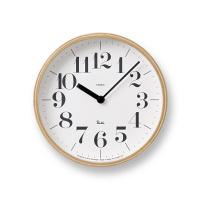 Lemnos(タカタレムノス) RIKI CLOCK S [クオーツ 掛け 時計] ナチュラル WR-0401S 1個