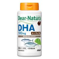 ディアナチュラ(Dear-Natura) DHA500mg withイチョウ葉 30日分(120粒入) アサヒグループ食品 サプリメント