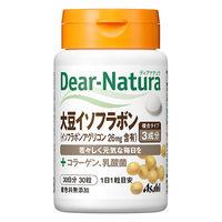 ディアナチュラ(Dear-Natura) 大豆イソフラボン+レッドクローバー 30日分(30粒入) アサヒグループ食品 イソフラボン サプリメント