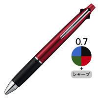 三菱鉛筆(uni) ジェットストリーム多機能ボールペン 4色+シャープ 0.7mm MSXE5-1000-07 ボルドー軸 3本