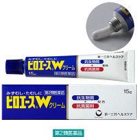 【第2類医薬品】ピロエースWクリーム 1個(15g入) 第一三共ヘルスケア 水虫・たむし