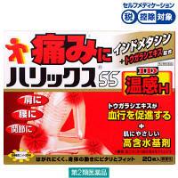【第2類医薬品】ハリックス55ID温感H 20枚 ライオン★控除★