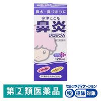 【指定第2類医薬品】宇津こども鼻炎シロップA 120ml 宇津救命丸