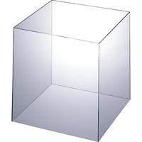 アクリル製 キューブ型ディスプレイ 30cm角 1セット(4個:1個×4) アスクル