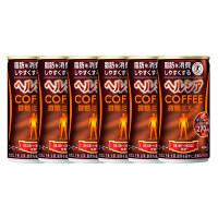 缶コーヒー 特定保健用食品(トクホ) ヘルシアコーヒー 微糖ミルク 185g 1セット(6缶) 花王