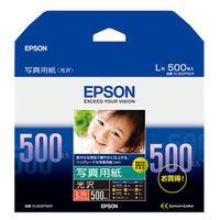 エプソン 写真用紙 光沢 L判 KL500PSKR(500枚入)
