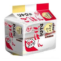 サトウのごはん 北海道産ななつぼし 5食