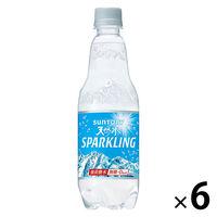 サントリー 南アルプスの天然水スパークリング 500ml 1セット(6本)