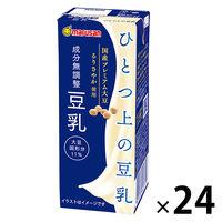 ソイプレミアム ひとつ上の豆乳 成分無調整 200ml 1箱(24本入) マルサンアイ