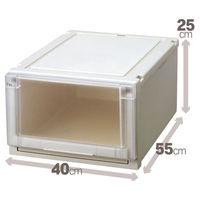 【衣装ケース】天馬 フィッツ ユニットケース4025(クローゼットサイズ) 1個