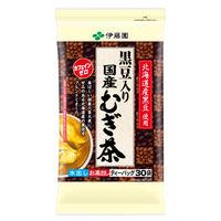 【水出し可】伊藤園 黒豆入り国産むぎ茶ティーバッグ 1袋(30バッグ入)