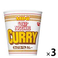 日清 カップヌードル カレーミニ 3食