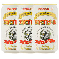 エチゴビール ビアブロンド 缶 350ml 452582 3本