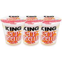 日清食品 カップヌードル キング 1セット(3食)
