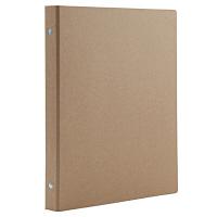 無印良品 再生紙バインダー B5・26穴・ベージュ