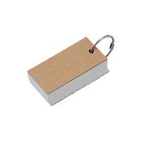 再生紙単語カード 無印良品