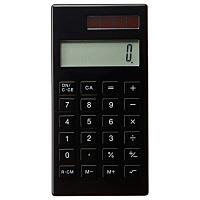 電卓・黒 8737376 無印良品
