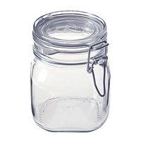 無印良品 ソーダガラス密封ビン 約750ml 5759521 良品計画
