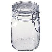 無印良品 ソーダガラス密封ビン 約1000ml 5759538 良品計画