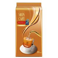 【ドリップコーヒー】片岡物産 モンカフェ カフェインレスコーヒー 1パック(10袋入)