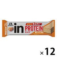 ウイダーinバー プロテイン ナッツ味 12本 森永製菓  栄養補助食品
