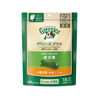 greenies(グリニーズ) プラス ドッグフード 成犬用・小型犬用 体重7~11kg 1パック(18本入) マースジャパン