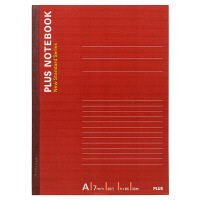 プラス ノートブック A罫30枚セミB5