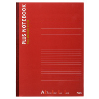 プラス ノートブック A4 40枚 A罫 NO-204AS 76713