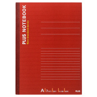 プラス ノートブック セミB5 50枚 A罫 NO-005AS 76704 1パック(10冊入)