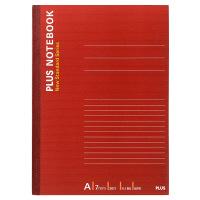 プラス ノートブック セミB5 50枚 A罫 NO-005AS 76704 1箱(80冊:10冊入×8袋)
