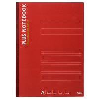 プラス ノートブック A4 40枚 A罫 NO-204AS 76713 1箱(60冊:10冊入×6袋)