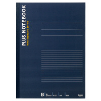プラス ノートブック A4 40枚 B罫 NO-204BS 76714 1箱(60冊:10冊入×6袋)